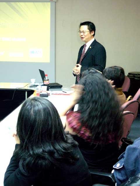 【主題】製衣產業的網路與行銷觀念問題【時間】2007-12-11  | 演講行程