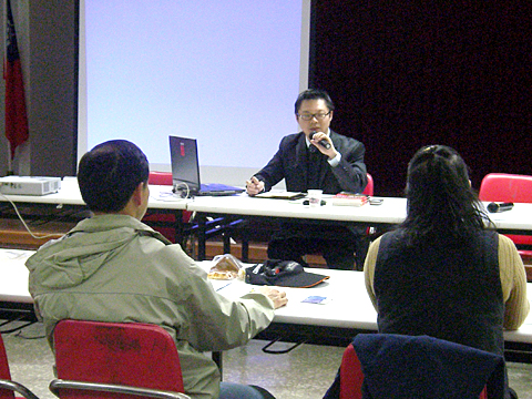 【主題】觀光導覽解說、產業行銷訓練培訓課程【時間】2008-01-18  | 演講行程